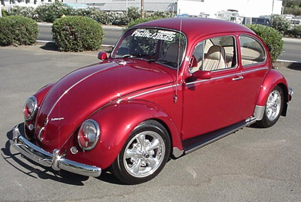 1965 Red Beetle