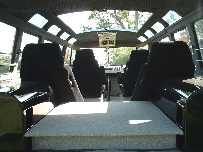 1967 Vw Microbus Sunroof Interior