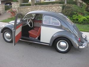 '64 VW Bug: Interior