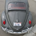 '64 VW Bug: Restored Rear View