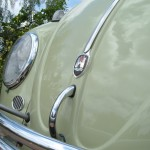 '61 VW Bug: Front