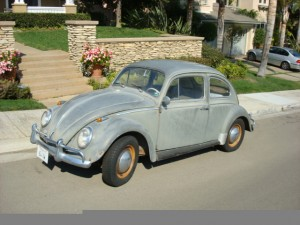 '64 VW Bug As it was in 1986