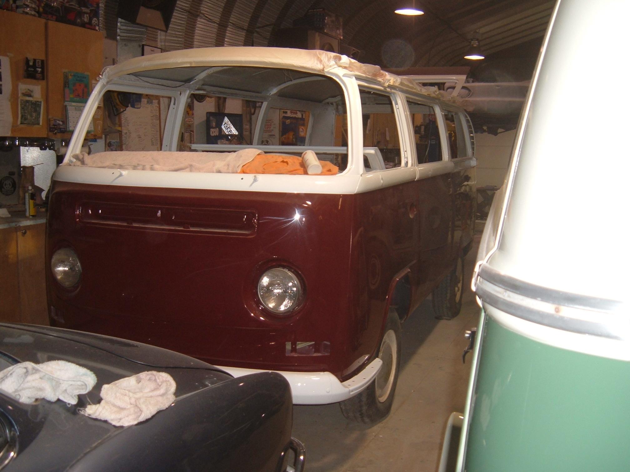 1973 vw bay window bus braxmeyer vintage volkswagen for 16 window vw van