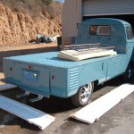 """56 VW Single Cab Truck"