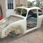 '65 VW Bug: Frame Off
