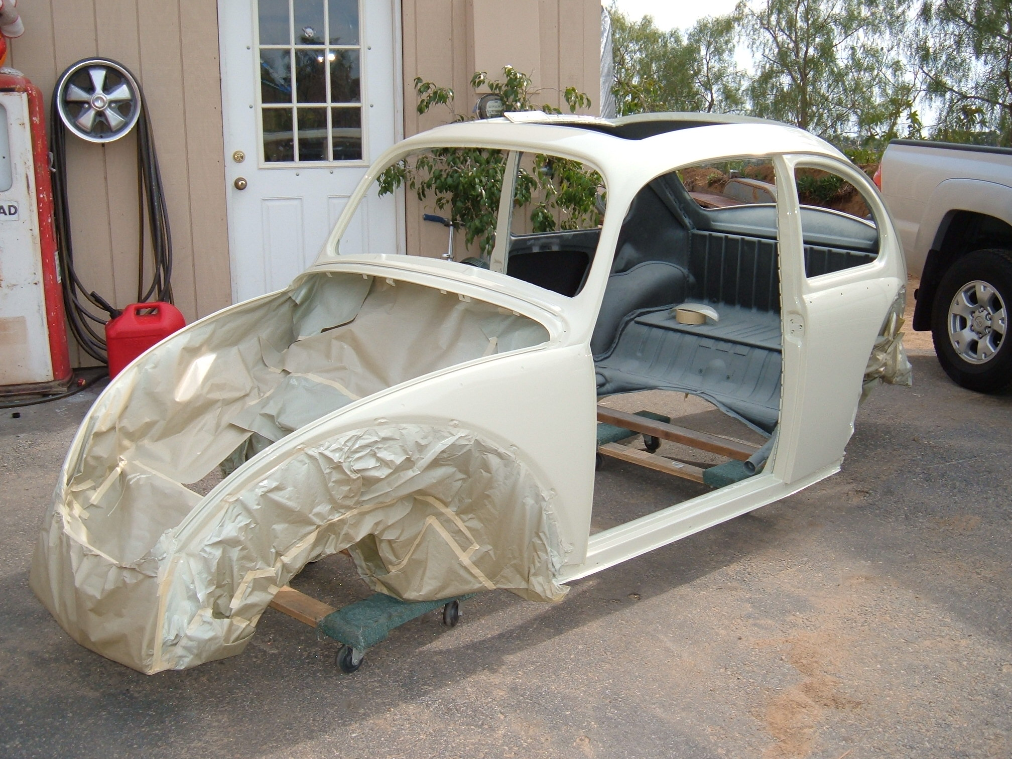 '65 VW Bug: Frame Off