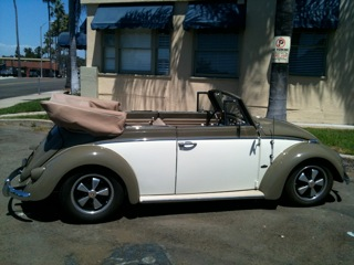 '60 VW Convertable Bug