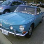 '68 VW Type 34: Front View