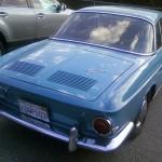 '68 VW Type 34: Rear View